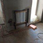 Радиаторное отопление в нише